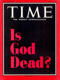 time is god dead cover