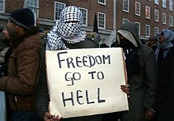 Freedom go to hell