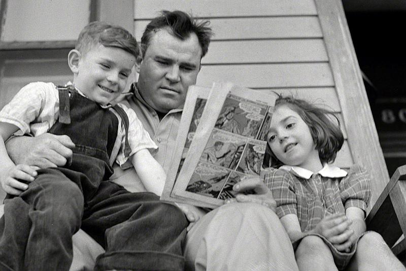 Διαβάζοντας με τον μπαμπά, για τον μπαμπά