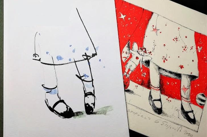 Παπούτσια με λουράκι, της Φωτεινής Στεφανίδη
