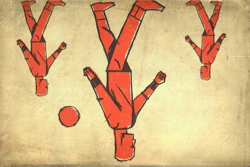 Ο άντρας που περπατούσε ανάποδα, του Πάβελ Κόχουτ