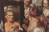 Old Woman at the Mirror Bernardo Strozzi 1615 cropped