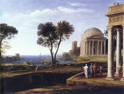 Claude-Lorrain Landscape-with-aeneas-at-delos