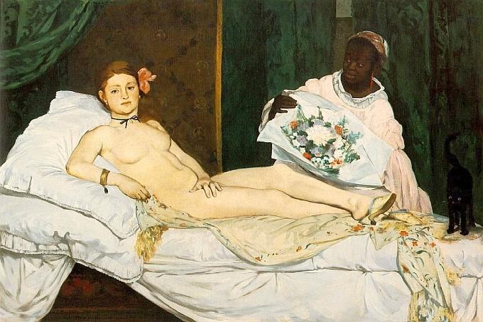 Manet-Edouard Olympia 1863
