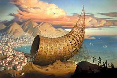 vladimir kush horn of babel-390