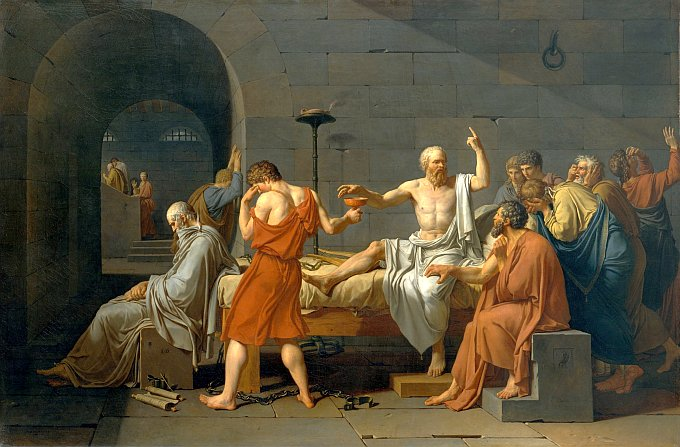 David-The Death of Socrates