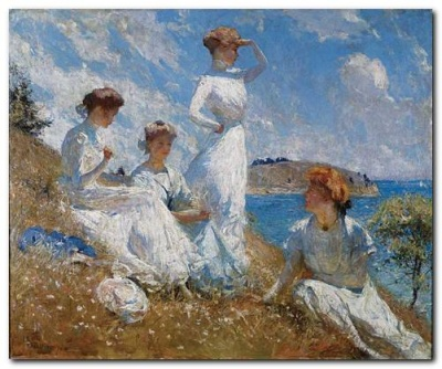 Summer in New England Frank W Benson