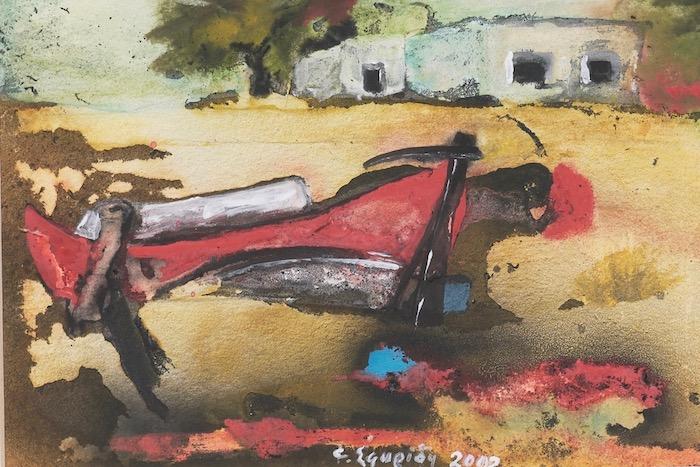 Φρίντα Σφυρίδη: Η ζωγράφος της Σκύρου