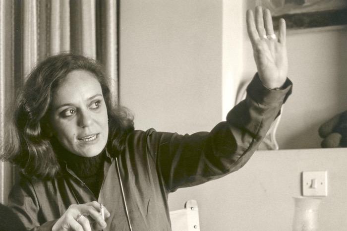 Η ποιήτρια Φρίντα Λιάππα