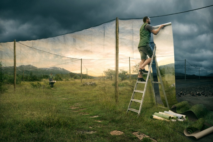 erik johansson the cover up
