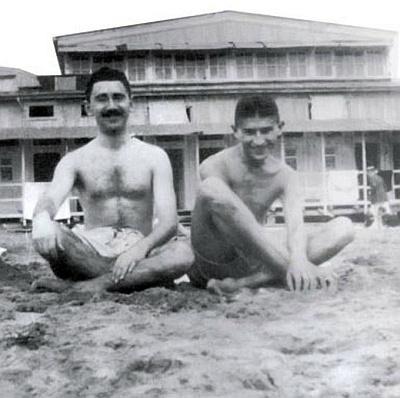 Ernst Weiss with Kafka