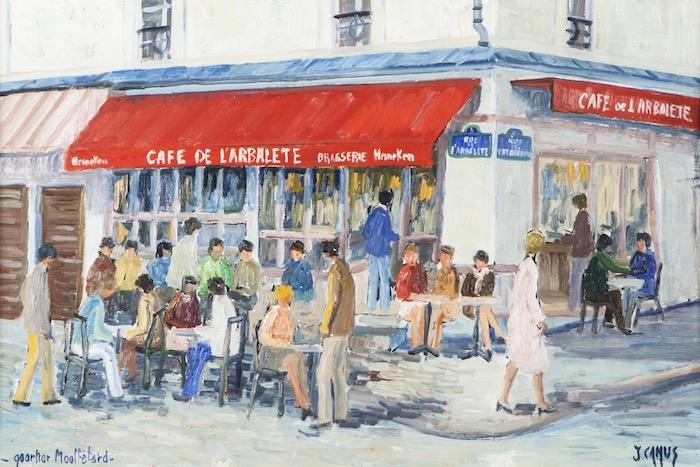 Αύγουστος 2017 στο Café de L'Arbalete