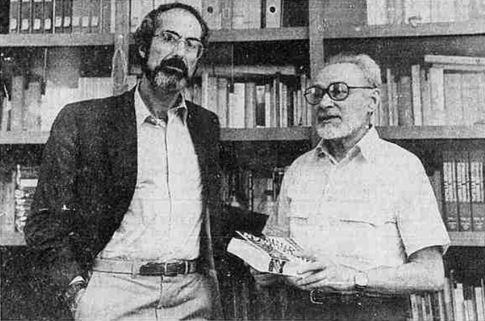 Roth with Primo Levi