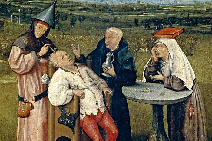 The Extraction of the Stone of Madness 1494 Hieronymus Bosch