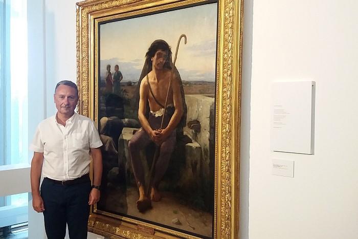 Ζωγραφική και ποίηση με φόντο μεσογειακό