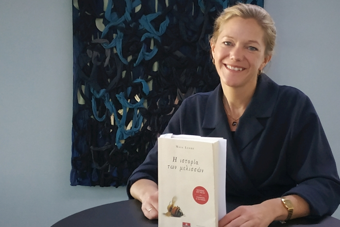 Μάγια Λούντε: «Υπάρχουν τόσες εκδοχές ενός βιβλίου όσες και οι αναγνώστες του»