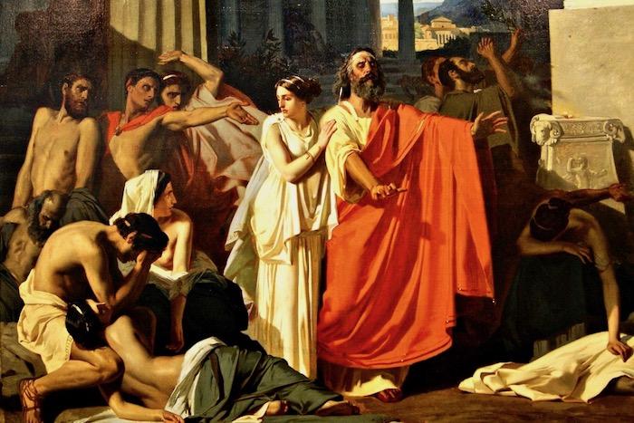 Ο ποιητής Οιδίπους και η Σφίγγα της Ιστορίας
