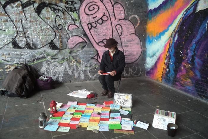 Η ποίηση στον δρόμο