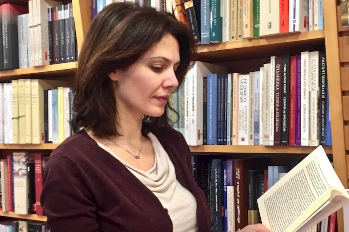 Διαβάζοντας με τη Μαριλίτα Λαμπροπούλου