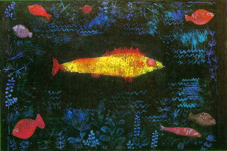 the goldfish 1925 Paul Clee