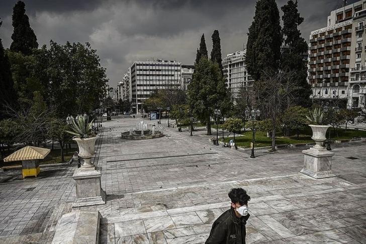 Ένας «ξένος» στην Αθήνα του 2020