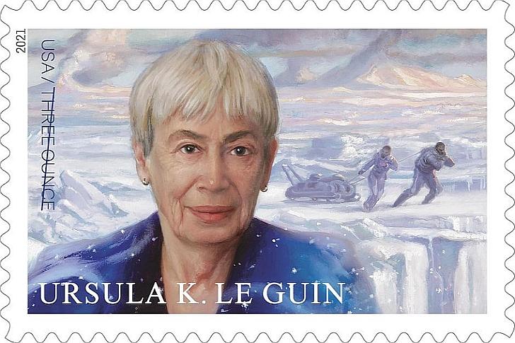 Ένα γραμματόσημο για την Ούρσουλα Λε Γκεν